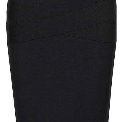 Černá sukně VILA Anns