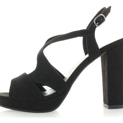 Černé sandály Tamaris 28386