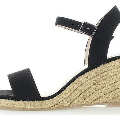 Černé sandály Tamaris 28300