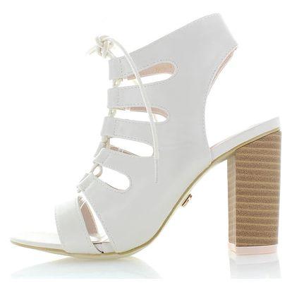 Krémové sandály Rania