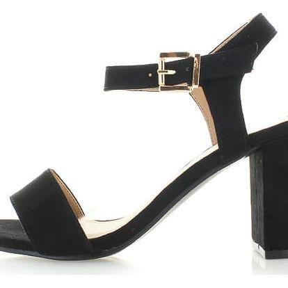 Černé sandály Erica