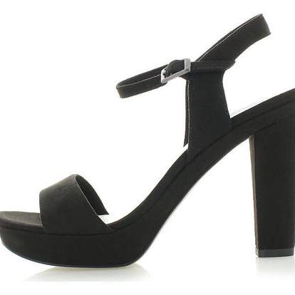Černé sandály Tamaris 28387