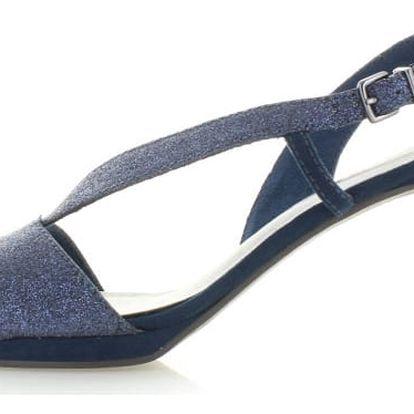 Tmavě modré sandály Tamaris 28336