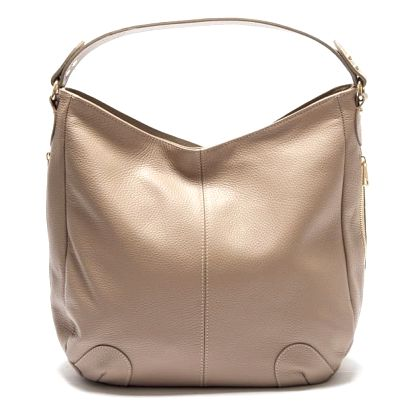 Béžová kožená kabelka Isabella Rhea Fraximus - doprava zdarma!