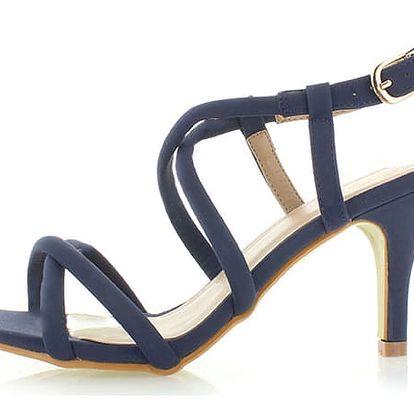Tmavě modré sandály Motion