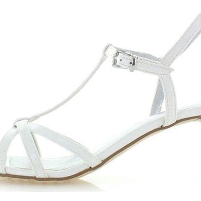 Bílé sandály Tamaris 28329