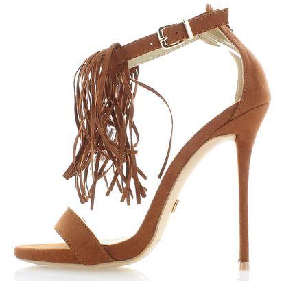 Skořicové sandály Inuska