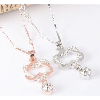 Elegantní dámský náhrdelník v různých barvách