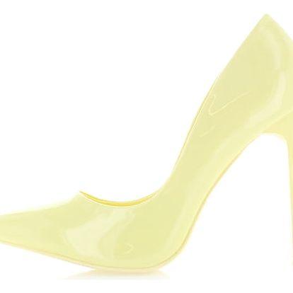 Žluté lodičky Connie
