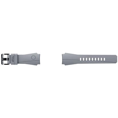 Výměnný pásek Samsung silikonový pro Gear S3 special edition (ET-YSI76MSEGWW) stříbrný