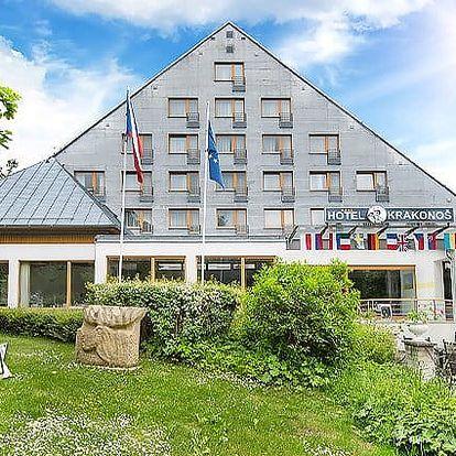 3–6denní pobyt pro dva s wellness v Mariánských Lázních v hotelu Krakonoš