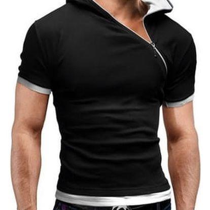 Pánské triko se zipem - 6 variant - 6 velikostí