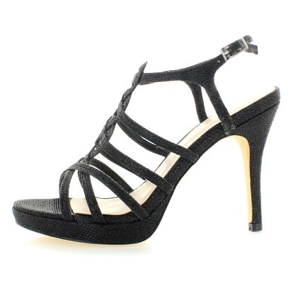 Černé sandály Menbur Vinitta