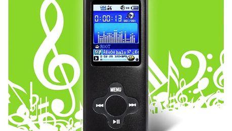 8GB MP4 FM přehrávač - 4 barvy