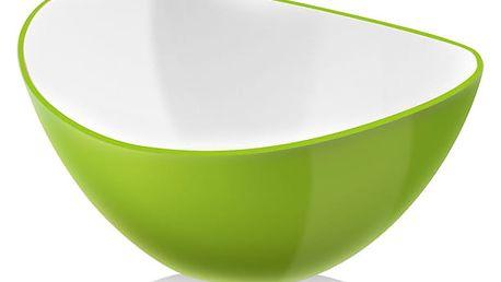 Zelená salátová mísa Vialli Design, 25 cm - doprava zdarma!