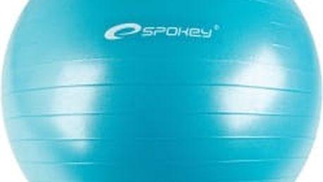SPOKEY Fitball průměr 75 cm tyrkys gymnastický míč