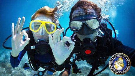 Kompletní potápěčský kurz pro začátečníky od Enjoy Diving v okolí Prahy