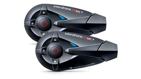 Handsfree Interphone F5MC Twin Pack pro uzavřené a otevřené přilby (INTERPHONEF5MCTP)