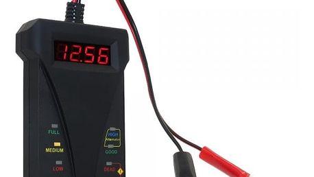 Digitální tester AKU baterií