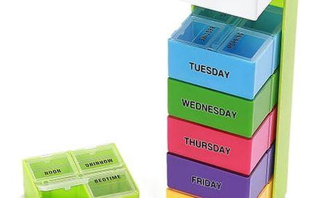 Organizační box na léky v originálním designu