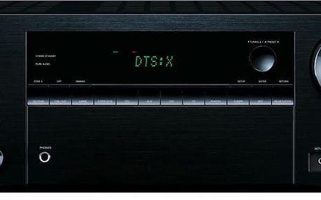 Onkyo TX-NR555, černá - TX-NR555B