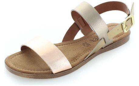 Světle růžové sandály s.Oliver 28100