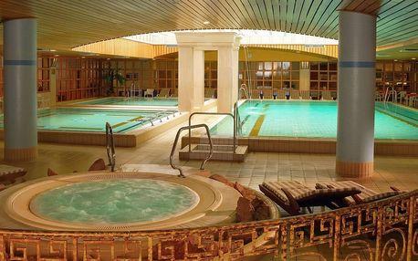 Aquincum Hotel Budapest ***** u Margaretina ostrova s neomezeným termálním wellness