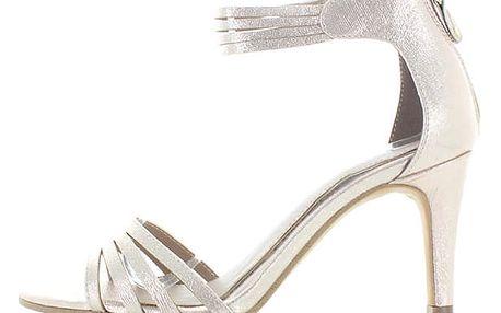 Zlaté sandály s.Oliver 28331