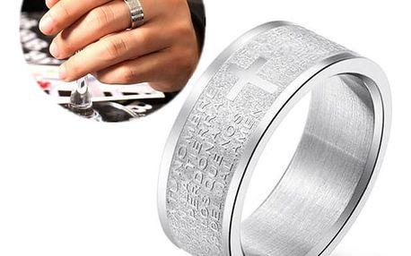 Široký prsten s bohatým zdobením