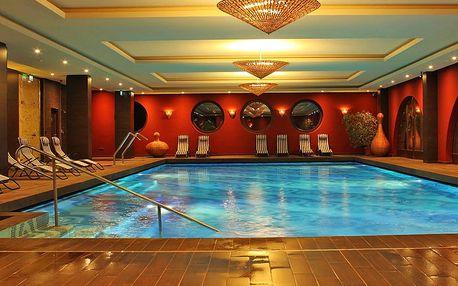 Relax u Budapešti s neomezeným wellness a stravou v oceněném 4* hotelu