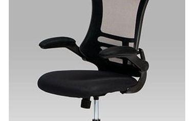 Kancelářská židle, mesh černá