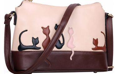 Dámská kabelka z umělé kůže - 2 varianty
