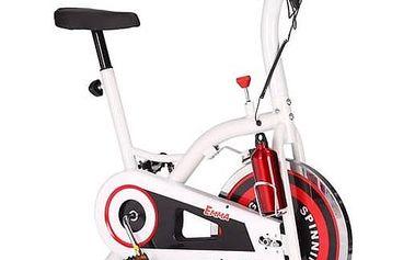 Cyklotrenažér Acra BC2900 bílý/červený + Doprava zdarma