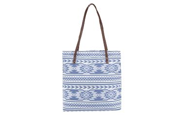 Bílo-modrá kabelka Haily's Claudia