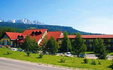 3–6denní jarní pobyt s wellness v hotelu Rysy*** ve Vysokých Tatrách pro 2