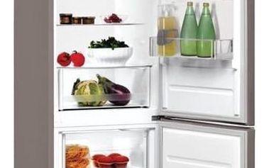 Kombinace chladničky s mrazničkou Indesit LR9 S1Q F X nerez + K nákupu poukaz v hodnotě 3 000 Kč na další nákup + Doprava zdarma