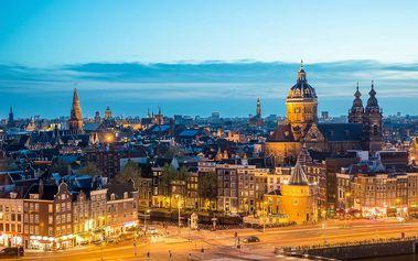 Amsterdam, Volendam, skanzen a Delft: 5denní zájezd pro 1 osobu s 2x ubytováním a snídaní