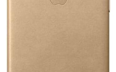 Kryt na mobil Apple Leather Case pro iPhone 7 - žlutohnědý (MMY72ZM/A)