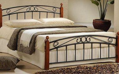 Elegantní postele ve vintage stylu