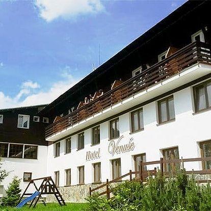 3–5denní pobyt s polopenzí pro 2 osoby v hotelu Venuše*** ve Špindlerově Mlýně