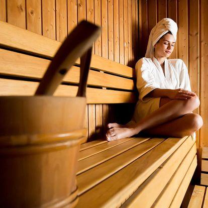 Vstupy do finské sauny dle výběru