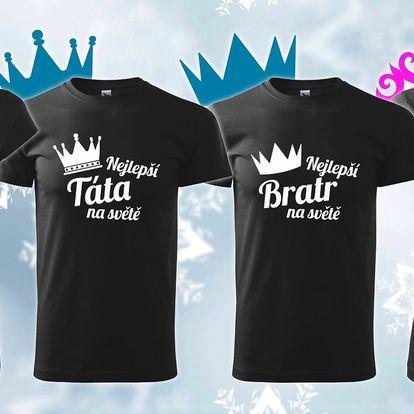 Parádní trička pro celou rodinu