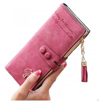 Dámská peněženka s deštníkem a střapcem