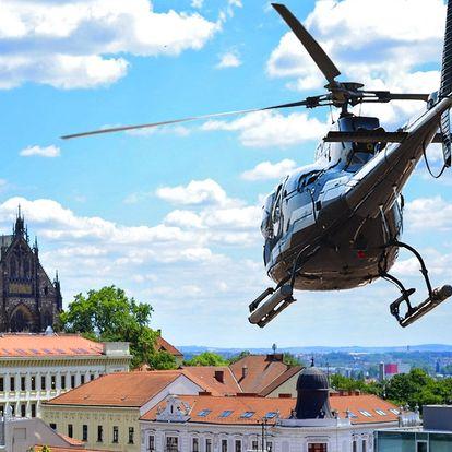 Brno z pohledu ptáků: vyhlídkový let vrtulníkem