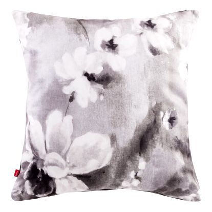 Polštář PALLOMA šedá 45x45 cm motiv květy HOME & YOU Varianta: Povlak na polštář, 45x45 cm
