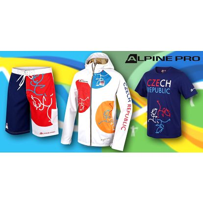 Pánská kolekce Alpine Pro OH: bundy, kalhoty, trička i doplňky