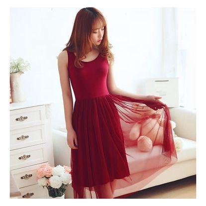 Pohodlné šaty na letní radovánky - 6 barev