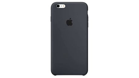 Kryt na mobil Apple Silicone Case pro iPhone 6S - Charcoal Gray (MKY02ZM/A)