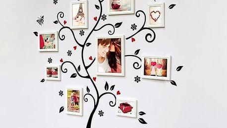 Dekorační samolepka strom pro originální vzhled vaší stěny. Samolepka na zeď ve tvaru stromu.