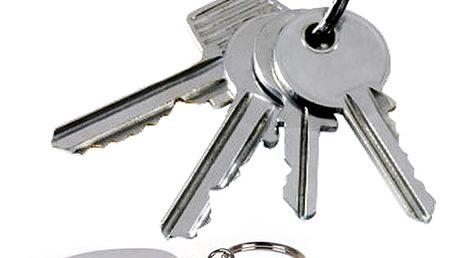 Keyfinder - ukončí Vaše věčné trápení při hledání klíčů. Stačí zapískat a klíče jsou na světě.